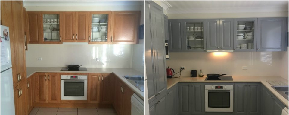 Kitchen Transformation Before And After: Before & After Resurfacing Photos: Bathroom And Kitchen